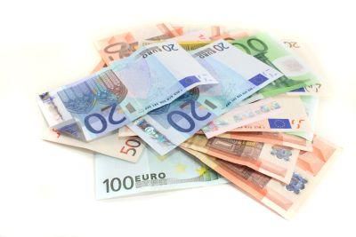 Geldscheine als Kredit