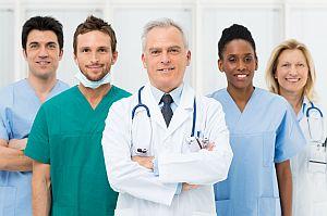 Team von Ärzten