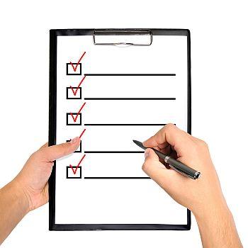 Testergebnisse.org Checkliste